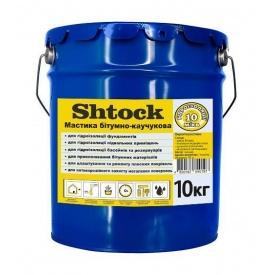 Мастика битумно-каучуковая Shtock 20 л 20 кг