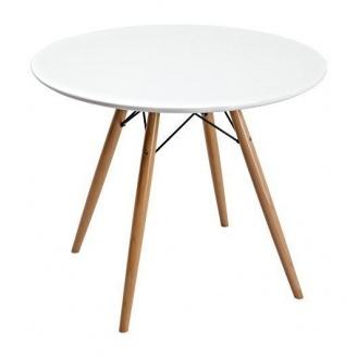 Стол нераскладной Domini Прайз 800x800x700 мм белый