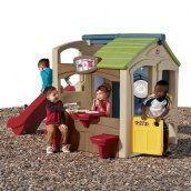 Детский игровой комплекс с домиком NEIGHBORHOOD FUN CENTER 147х213х161 см