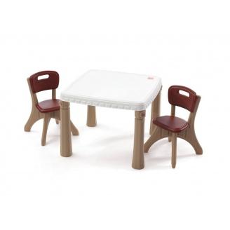 Стіл з двома стільцями KITCHEN TABLE&CHAIRS 48х64х64 см 50х35х35 см