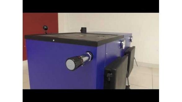 Твердопаливний котел Макситерм 12 кВт