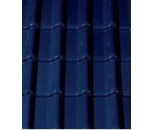 Керамическая черепица CREATON Futura 300х482 мм (dark blue glazed)