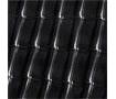 Черепица Roben Monzaplus 464*304 мм черно-коричневая
