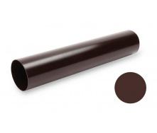 Водосточная труба Galeco PVC 130/100 100х4000 мм шоколадно-коричневый