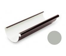 Желоб водосточный Galeco PVC 150/100 148х4000 мм светло-серый