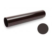 Водосточная труба Galeco PVC 90/50 50х2000 мм темно-коричневый