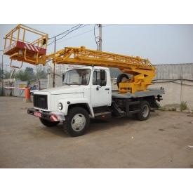 Аренда автовышки ГАЗ-3307 18 м