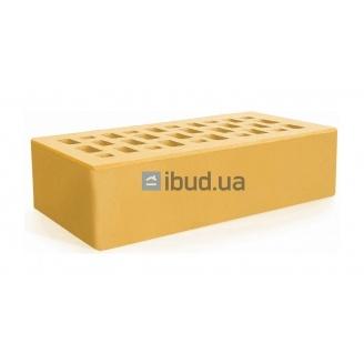 Кирпич лицевой Евротон 250х120х65 мм желтый
