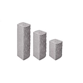 Колотый столбик 150х150х950 мм серый