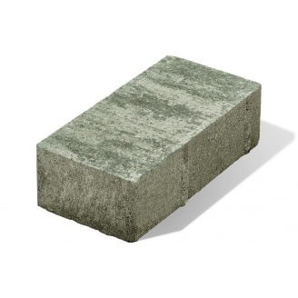 Плитка тротуарная Авеню Декор Лайнстоун 20 300х300х40 мм платина