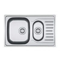 Кухонная мойка Franke Polar PXL 651-78 декор 780х490 мм