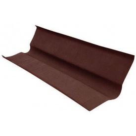 Ендова коричневая водосток 100 см