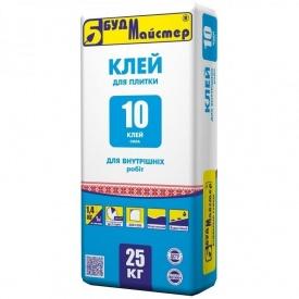 Клей для плитки БудМайстер КЛЕЙ-10 25 кг