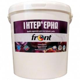 Краска водоэмульсионная акриловая интерьерная Фронт 25 кг