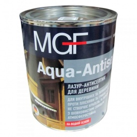 Лазурь-антисептик MGF Aqua-Antiseptik тик 750 мл