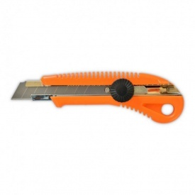 Нож с вращающимся фиксатором усиленный 18 мм
