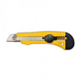 Нож с фиксатором вращающимся 18 мм