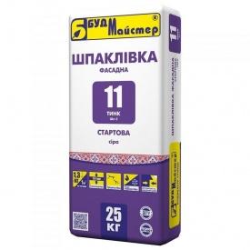 Смесь для шпаклевания цементная стартовая БудМайстер ТИНК-11 25 кг
