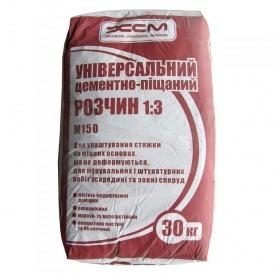Цементно песчаная смесь ЦПС М150 ХСМ 30 кг
