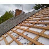 Демонтаж даху будинку