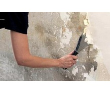 Демонтаж штукатурки с стен
