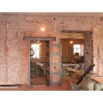 Демонтаж дверного проема в кирпичной стене от 45 до 65 см