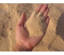 Песок речной навалом 1500 кг/м3