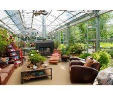 Сооружение зимнего сада под заказ