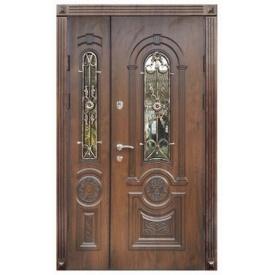 Входные двери металлические Модель 21 Стандарт уличные 1170х2050 мм