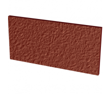 Напольная клинкерная плитка Paradyz Natural Rosa подступень структурная Duro 30x14,8x1,1 см