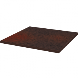 Базовая плитка структурная Paradyz Cloud 30х30 см brown duro