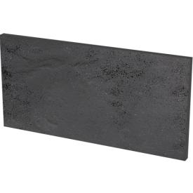 Клінкерна плитка Paradyz Semir Grafit Базова під ступені структурна 30x14,8 см