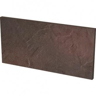 Клинкерная плитка Paradyz Semir Rosa Базoвая под ступени cтруктурная 30x14,8 см