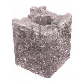 Камень навесной угловой Силта-Брик Элит 34-07 129х150х129 мм