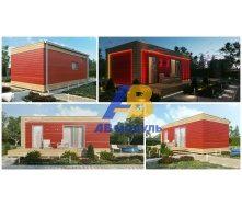 Всесезонный модульный дом по технологии Prefab 35 м2