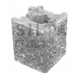 Камень навесной угловой Силта-Брик Элит 33 129х150х129 мм