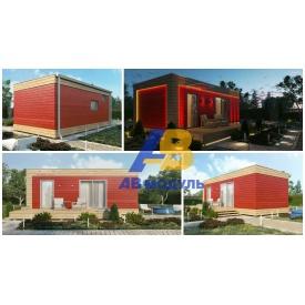 Всесезонний модульний будинок за технологією Prefab 35 м2