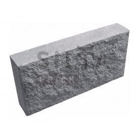 Цокольна плитка Сілта-Брік Сіра 14 390х190х70 мм