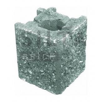 Камень навесной угловой Силта-Брик Элит 32 129х150х129 мм