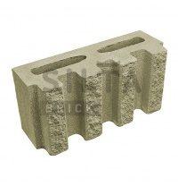 Блок декоративный Силта-Брик Цветной 25 канелюрный 390х190х140 мм