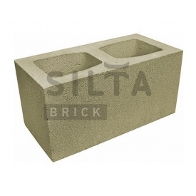 Блок гладкий Сілта-Брік Кольоровий 25 широкий 390х190х190 мм