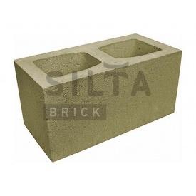 Блок гладкий Сілта-Брік Кольоровий 25-4 широкий 390х190х190 мм