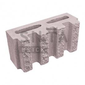 Блок декоративный Силта-Брик Элит 34-07 канелюрный 390х190х140 мм
