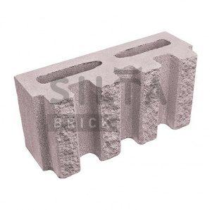 Блок декоративний Сілта-Брік Еліт 34-07 канелюрний 390х190х140 мм