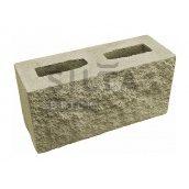 Блок декоративный  390х190х140 мм серый