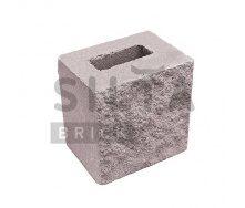 Полублок декоративный Силта-Брик Элит 34-07 190х190х140 мм
