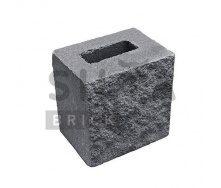Полублок декоративный Силта-Брик Цветной 0-2 190х190х140 мм
