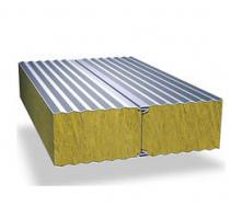 Сендвич-панель Промстан с наполнителем из минеральной ваты 80 мм