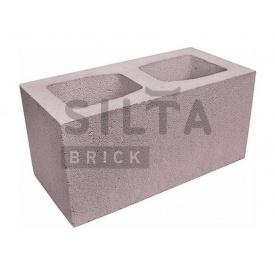 Блок гладкий Силта-Брик Элит 34-07 широкий 390х190х190 мм