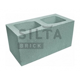 Блок гладкий Силта-Брик Элит 32 широкий 390х190х190 мм